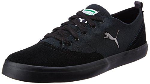 Puma Men's Funist Parade Puma Black and Steel Grey Sneakers – 11 UK/India (46 EU)