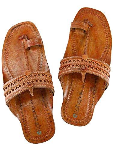 eKolhapuri Pink Ladies authentic handmade genuine leatherkolhapuri chappal