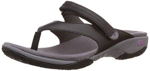 Clarks Women's Isna Slide Black Black Flip-Flops and House Slippers – 4 UK/India (37 EU) (91261042854040)