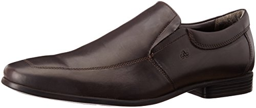 Arrow Men's Brown Leather Loafers and Moccasins – 10 UK/India (44 EU)