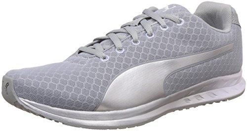 Puma Women's Burst Metal Wn's Quarry and Puma Silver Running Shoes – 5 UK/India (38 EU)