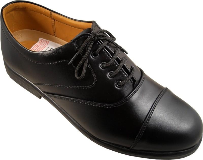Action Black Fashion Line ME432 Lace Up Shoes(Black)