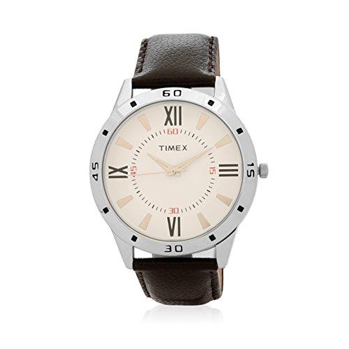 Timex Analog White Dial Men's Watch-TW00ZR205