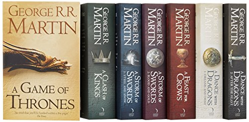 A Song of Ice and Fire – A Game of Thrones: The Complete Boxset of 7 Books