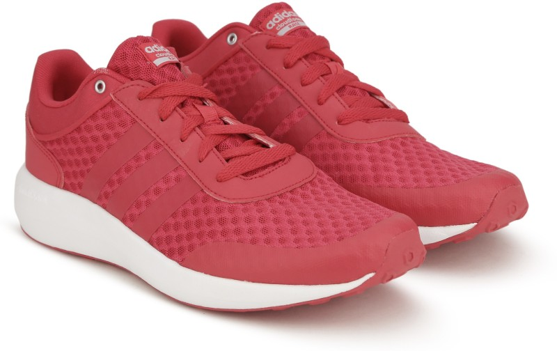 Adidas Neo CF RACE W Sneakers(White, Pink)