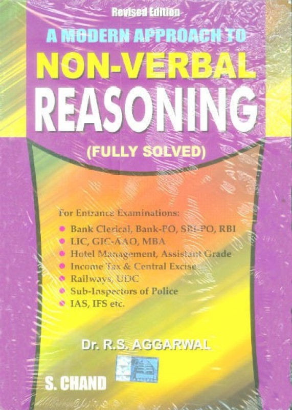 A MODERN APPROACH TO NON VERBAL REASONING Revised  Edition(English, Paperback, R. S. Aggarwal)