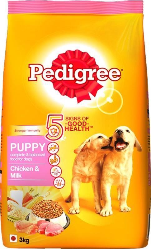 pedigree puppy chicken milk dog food3 kg -