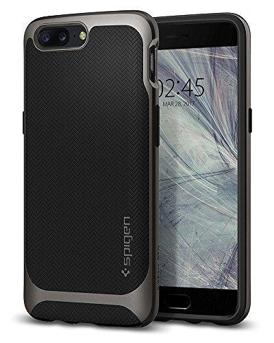 Spigen Neo Hybrid Case for OnePlus 5 / One Plus 5 / OP5 – Gunmetal K04CS21515