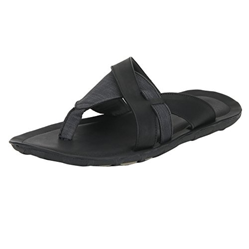 Bond Street by (Red Tape) Men's Black Hawaii Thong Sandals – 11 UK/India (45 EU)(RSP0311-11)