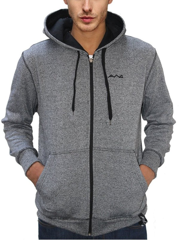BW Full Sleeve Solid Men's Sweatshirt