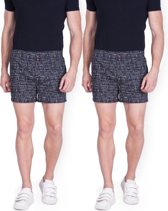 ONN Printed Men's Boxer(Pack of 2)