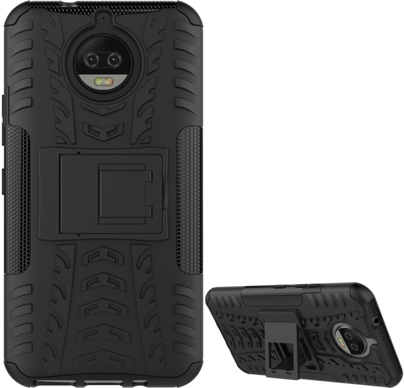 DMG Back Cover for Moto G5s Plus 5.5inch 2017 Edition(Black, Plastic)