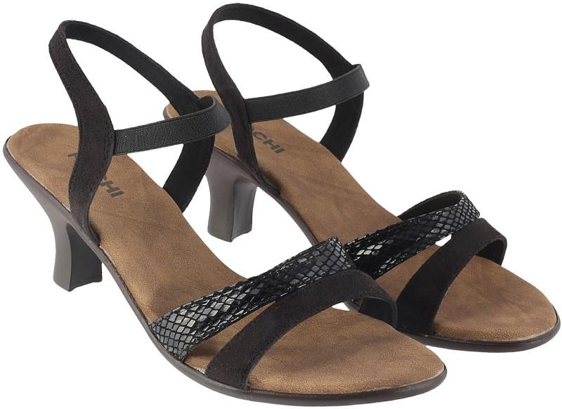 mochi women 11black heels -