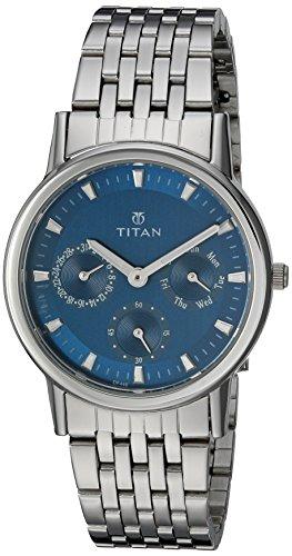 Titan Analog Blue Dial Women's Watch – 2557SM03