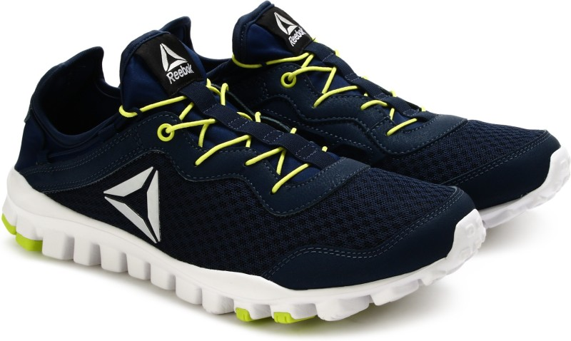reebok one rush flex running shoesblue -