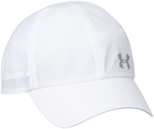 Under Armour Fly By Armour Vent  Women's Cap (1291073-100_White_One Size)
