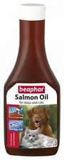 Beaphar Salmon oil for dogs and cats,425ml