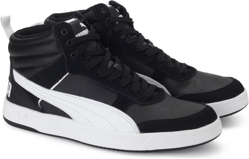 Puma Rebound Street v2 Sneakers(Black)