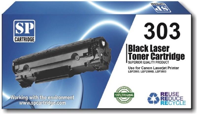 SP Canon 303 Toner Cartridge Black Single Color Toner(Black)