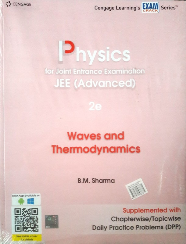 Physics for Joint Entrance Examination JEE Advanced – Waves and Thermodynamics(English, Paperback, BM Sharma)
