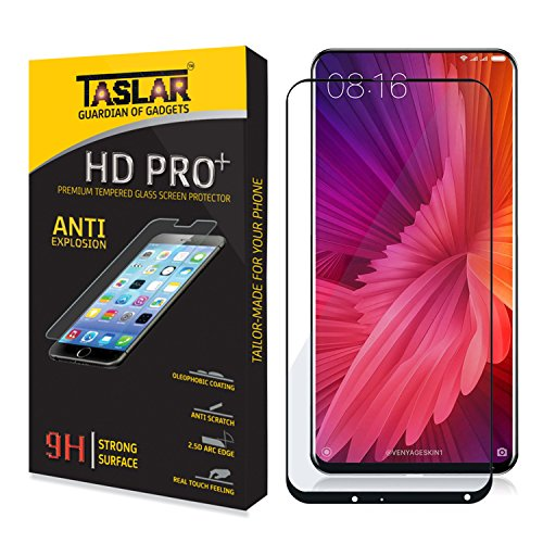 taslar full tempered glass screen guard protector with edge to edge coverage -