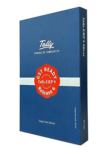 tally erp9 silver gst ready single user voucher -
