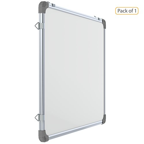 pragati systems genius regular steel magnetic whiteboard grmwb4560 -