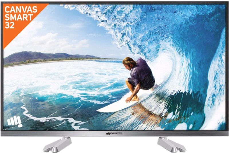 micromax 81cm 32 inch hd ready led smart tv32canvass2 -