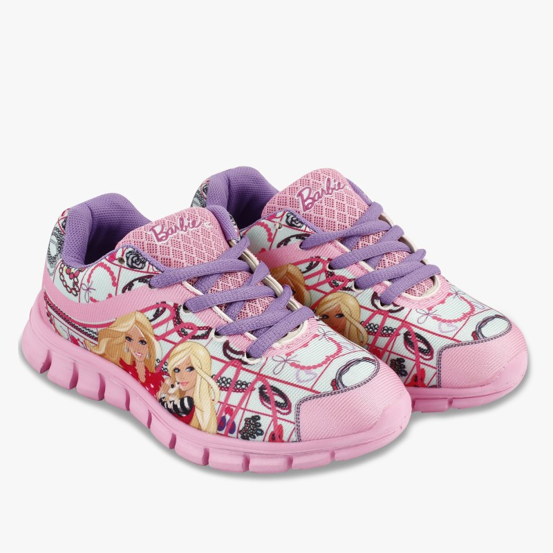 Barbie Girls Lace Walking Shoes(Pink)