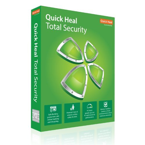 Quick Heal Total Security – 10 Users 1 Year