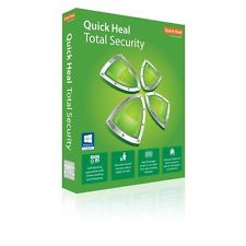 Quick Heal Total Security 2 User 1 YEAR QuickHeal 2 PC 1Yr Windows 10 Support