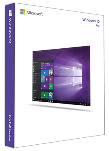 Microsoft Windows 10 Professional 32Bit/64Bit English INTL for 1 PC laptop/ User: 32 and 64 Bits on USB 3.0 Included – Full Retail Pack