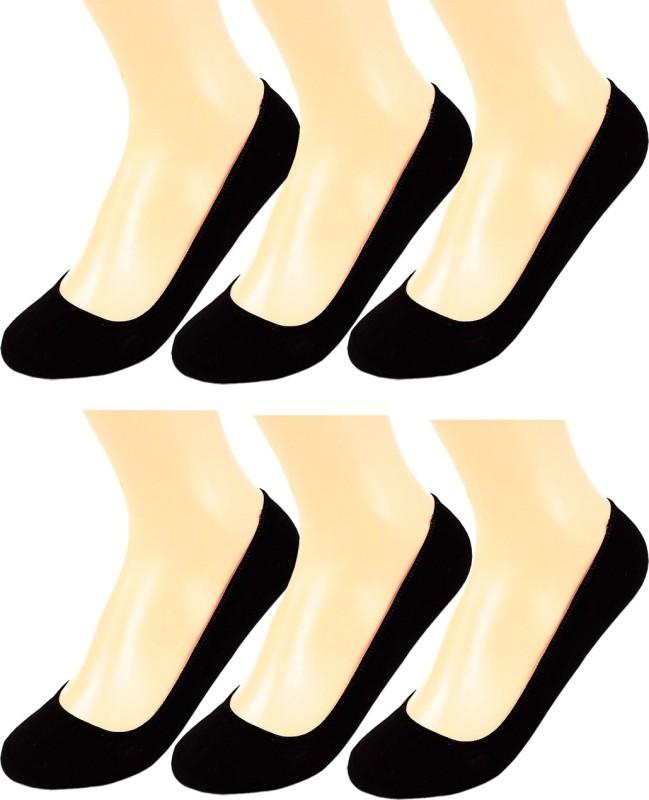 Stylefolio Women's Solid Ultra Low Cut Socks, Footie Socks, No Show Socks(Pack of 6)