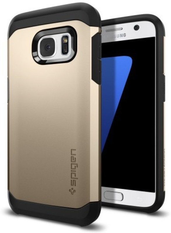 Spigen Back Cover for SAMSUNG Galaxy S7(Champagne Gold, Plastic)