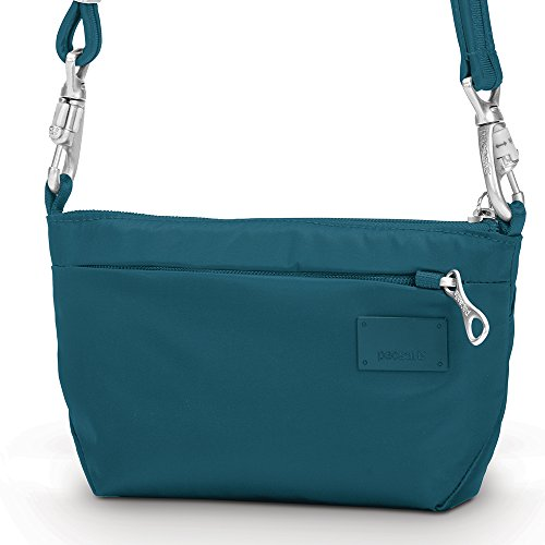 Pacsafe Citysafe CS25 Anti-Theft Cross-Body and Hip Purse, Teal