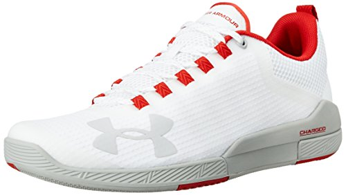 under armour mens ua charged legend tr white and aluminum multisport -