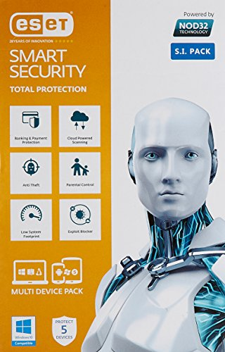 eset smart security home edition 5 users 1 year -