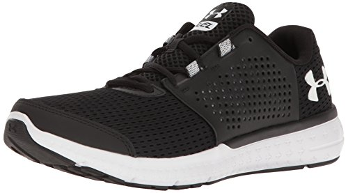 Under Armour Men's Micro G Fuel RN Black and White Multisport Training Shoes – 7 UK/India (41 EU) (1285670-001-8)