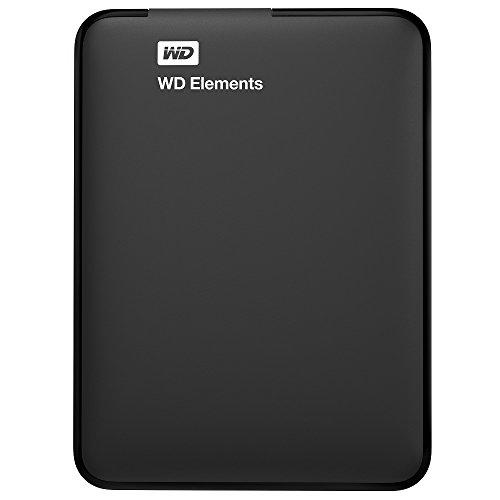 wd elements wdbuzg0010bbk eesn 1tb portable external hard drive black -