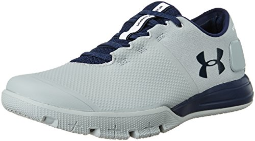 Under Armour Men's UA Charged Ultimate TR 2.0 Steel and Midnight Navy Multisport Training Shoes – 7.5 UK/India (42 EU)