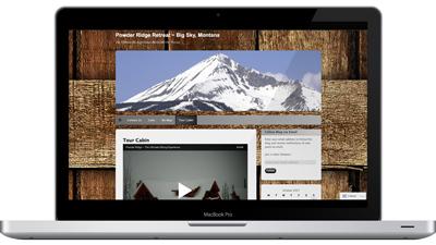 Local Cabin Rental Website