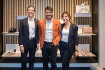 Antonio, Nuria y Jackson de Lottusse © La Siesta Press / J. Fernández Ortega