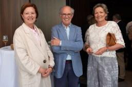 Marilena Jover, Diego Colón de Carvajal y Chantal Jourdain
