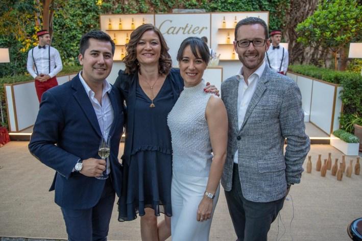 Carlos Muñoz, Sophie Diaz, Idoya Maté, Joaquin Forte de Cartier