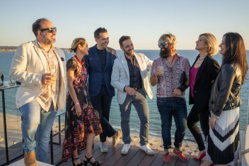 Joan Sureda, Juan Romaguera, Luismi Uribe, Alexandra Boix, Begoña © La Siesta Press / J. Fernández Ortega