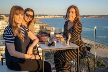 Erika Mormeneo, Tina Mascaro y Pilar Lopera