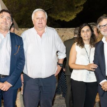 Xavi Bonet, Rafael Roig, Shideh Sarafraz y Ramon Vidal © La Siesta Press