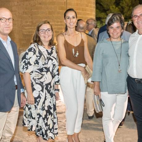 Julio Capilla (pte Colegio Auditores), Cristina Faustina, Isabel Vidal (as hotelera Playa de Palma), Sabina Roig (Managament Turístic) Y Matías Mut © La Siesta Press