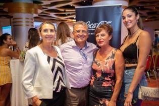 Susi García, Carlos Puertas, Ali Pérezy Bienve López del Casino De Mallorca © La Siesta Press / J. Fernández Ortega