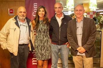 Jose De La Vega, Joana Maria Bosch, Iñaki Moya y Jose Alberto Terrasa